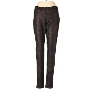 NEW Hue Original Jean Leggings - Pewter Shimmer
